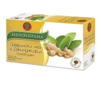 Salvia and Ginger Herbal Tea Bioprograma 20 tea bags