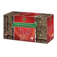 Winter & Cold Herbal Tea Bioprograma 20 tea bags